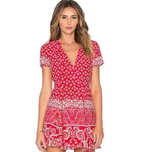 Lovers and Friends Cassidy Dress In Red, Small